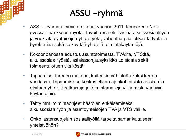 ASSU -ryhmä