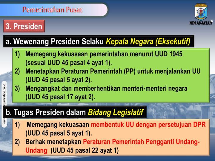 Pemerintahan Pusat