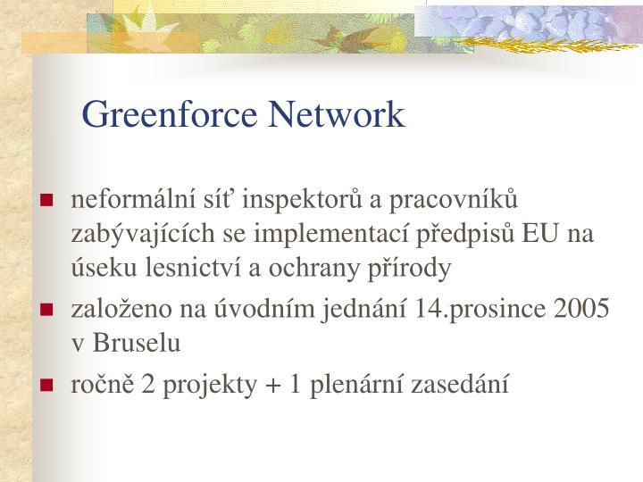 Greenforce Network