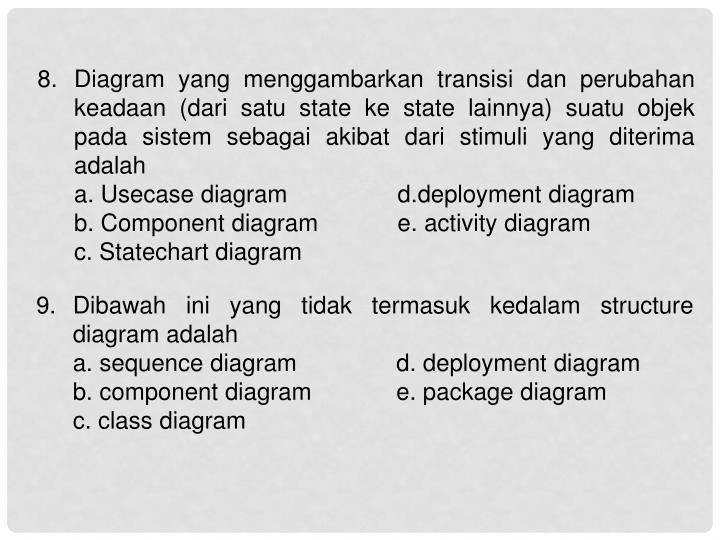 8. Diagram yang