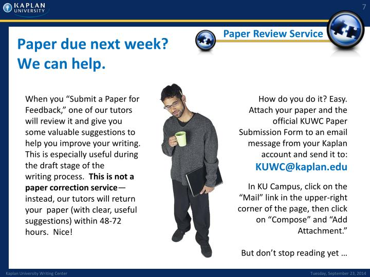 Paper Review Service