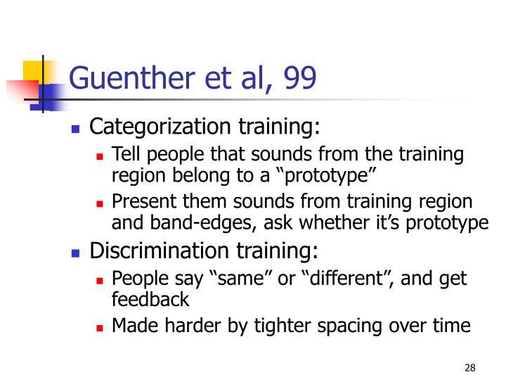 Guenther et al, 99