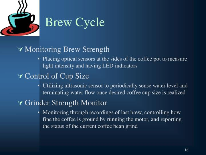 Brew Cycle