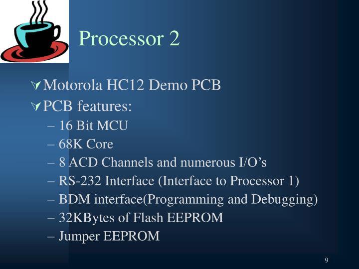 Processor 2