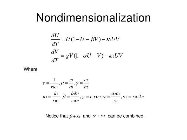 Nondimensionalization