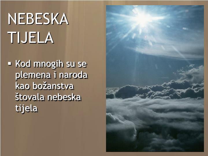 NEBESKA TIJELA