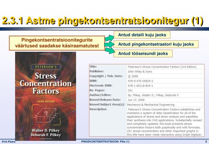 2.3.1 Astme pingekontsentratsioonitegur (1)
