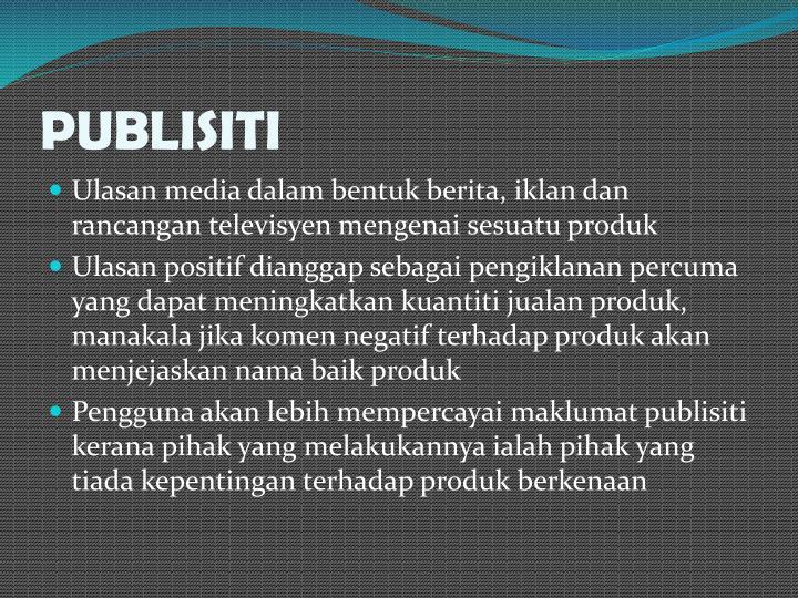 PUBLISITI
