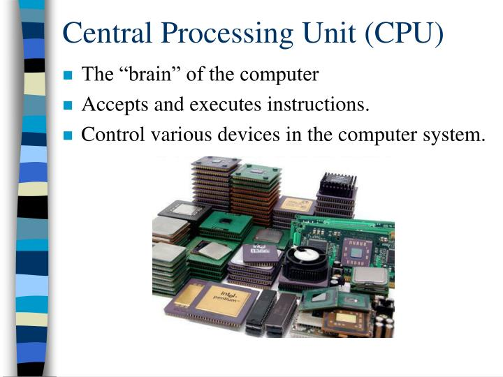 Central processing unit cpu