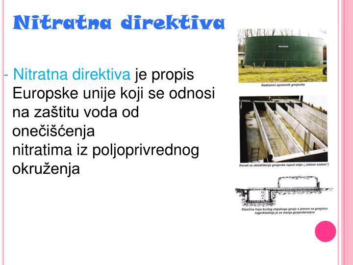 Nitratna