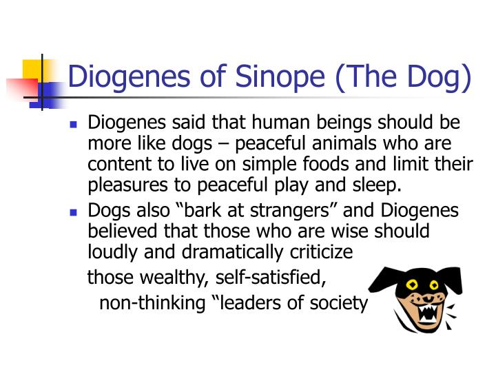 Diogenes of sinope the dog