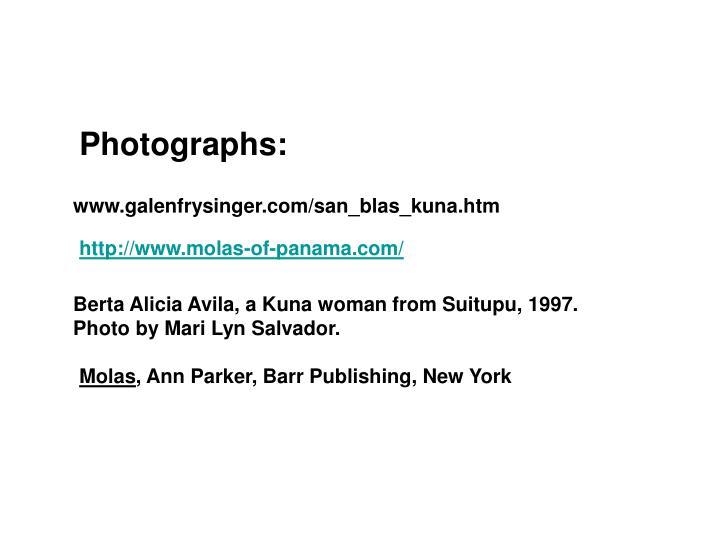 Photographs: