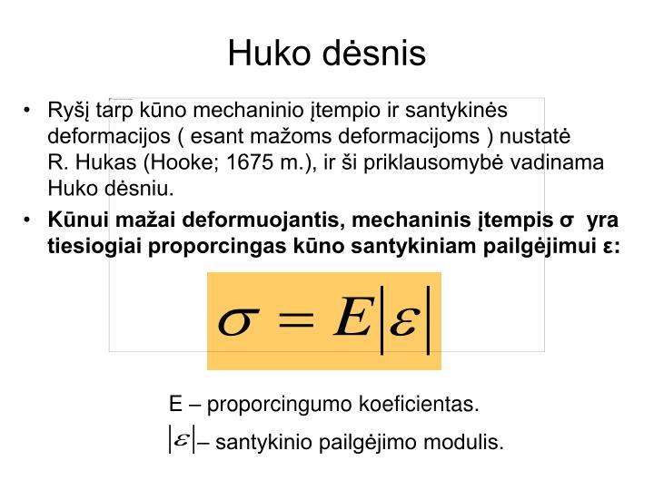 Huko dėsnis