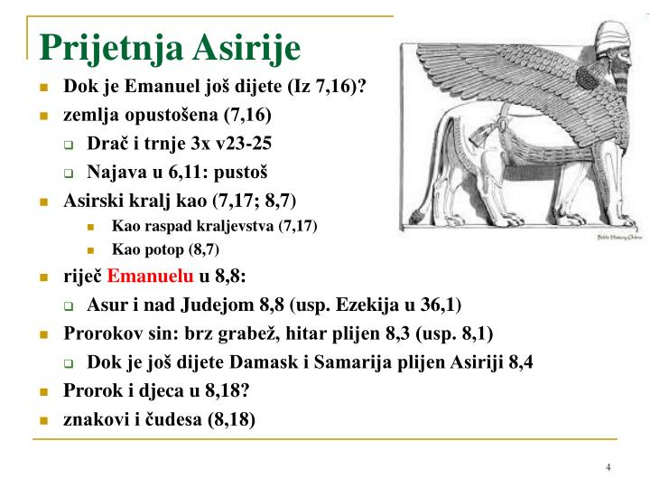 Prijetnja Asirije
