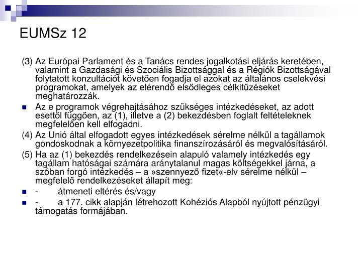 EUMSz 12