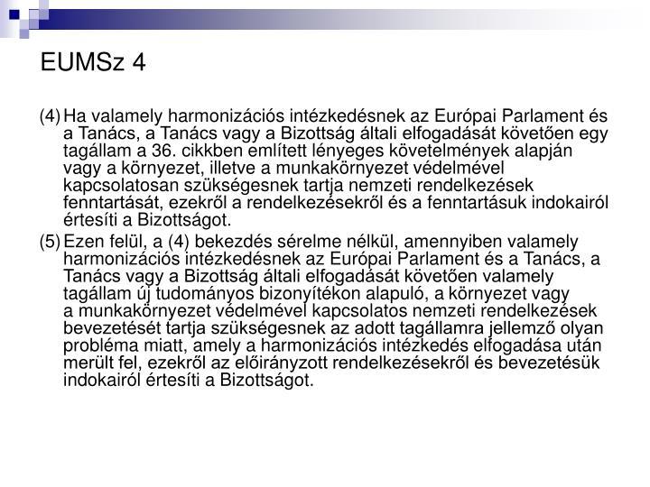 EUMSz 4