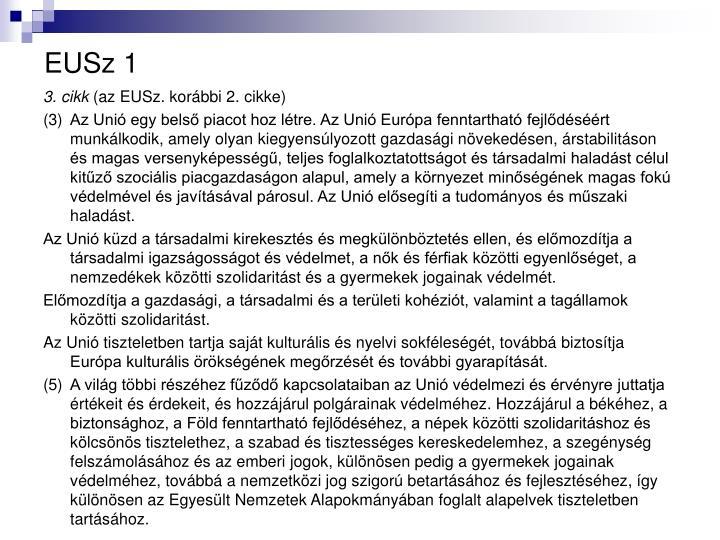 EUSz 1