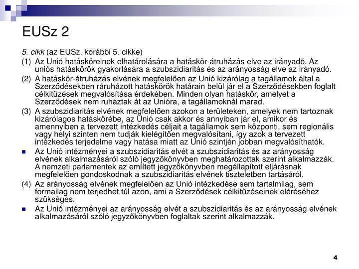 EUSz 2