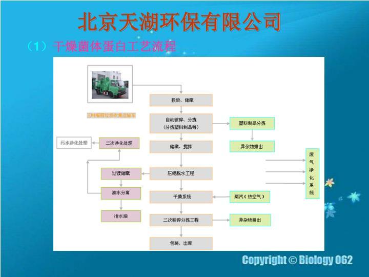 北京天湖环保有限公司