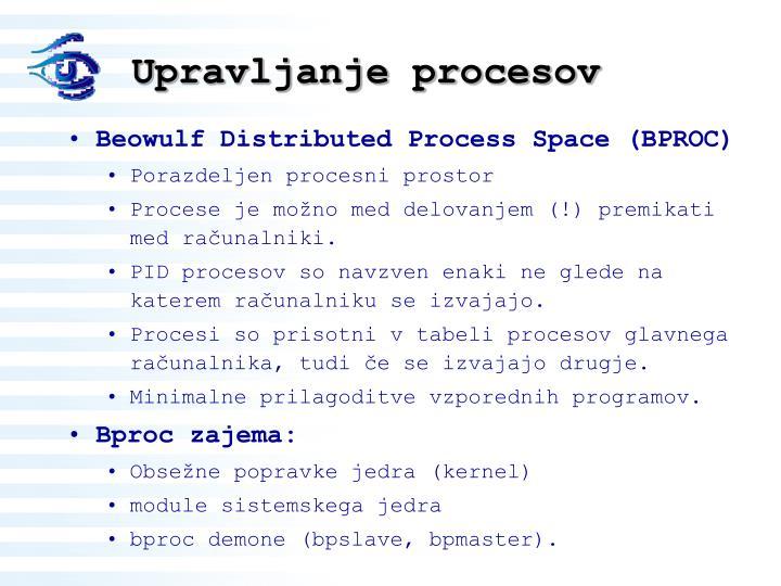 Upravljanje procesov