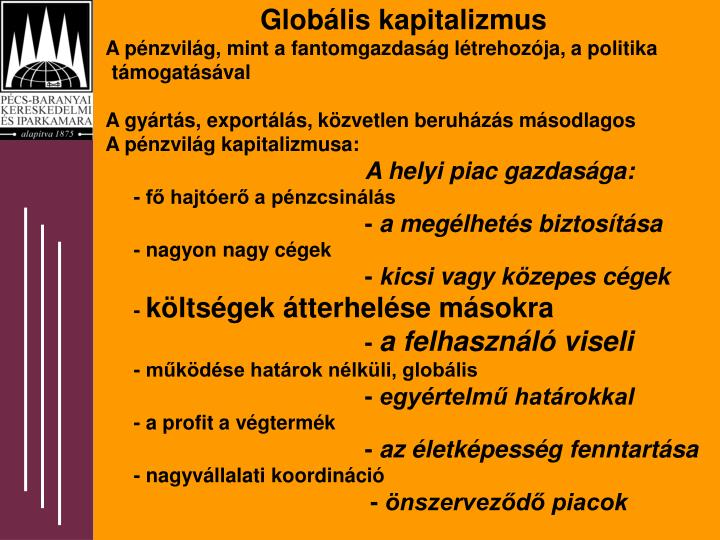 Globális kapitalizmus