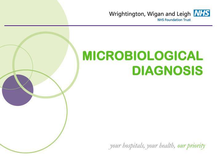 MICROBIOLOGICAL DIAGNOSIS