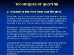 techniques of quoting3