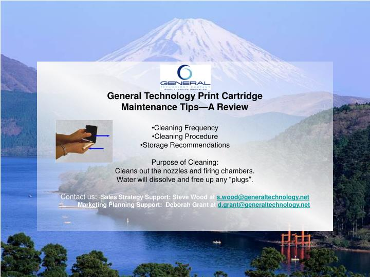 General Technology Print Cartridge