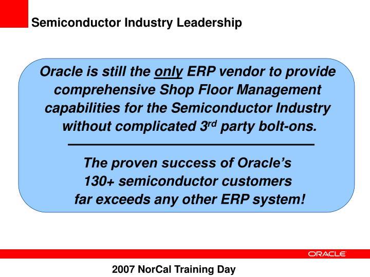 Semiconductor Industry Leadership