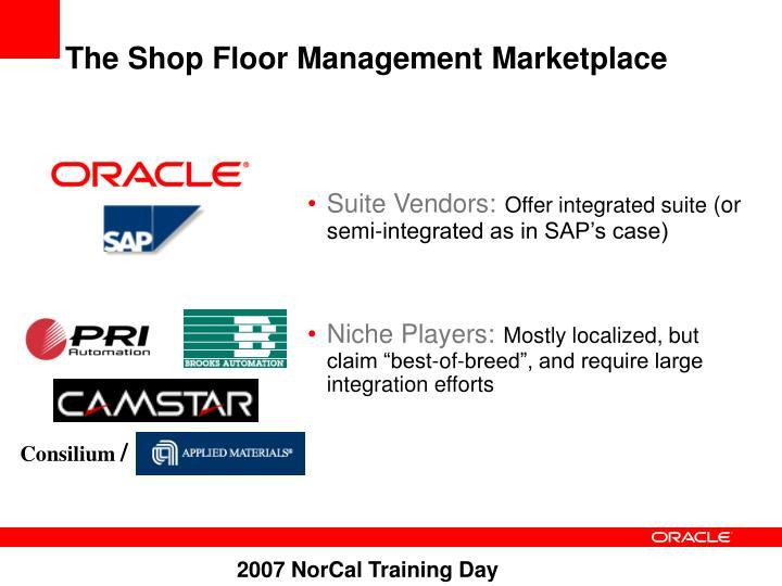 The Shop Floor Management Marketplace