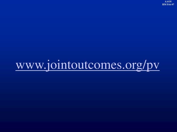 www.jointoutcomes.org/pv