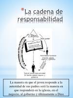 la cadena de responsabilidad