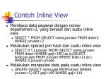 contoh inline view