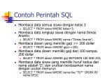 contoh perintah sql1