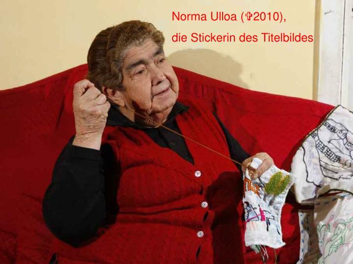 Norma Ulloa (