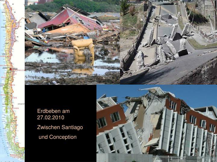 Erdbeben am 27.02.2010