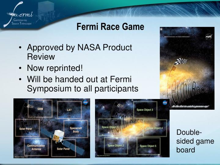Fermi Race Game