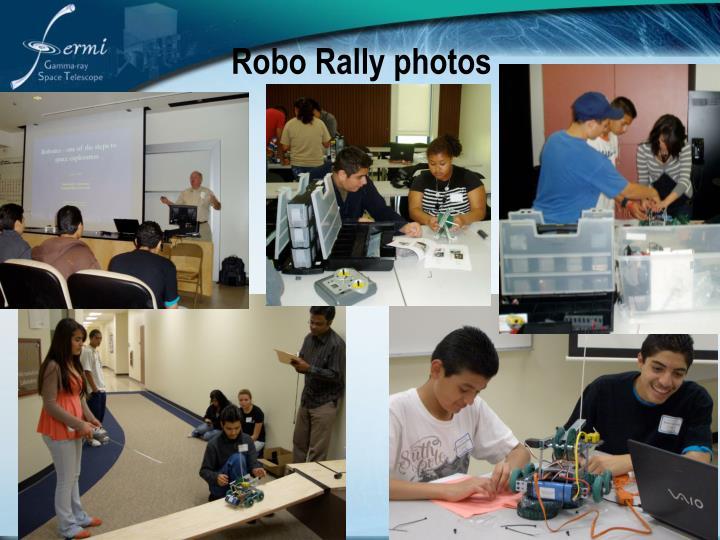 Robo Rally photos