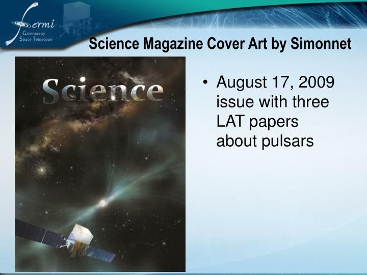 Science Magazine Cover Art by Simonnet