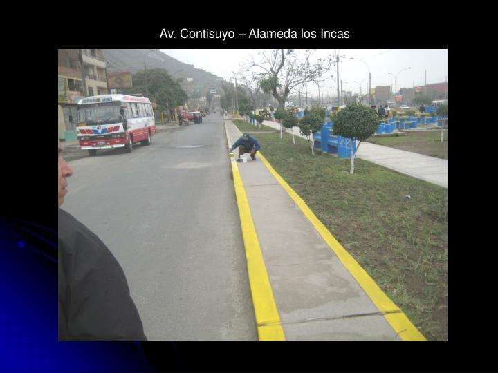 Av. Contisuyo – Alameda los Incas
