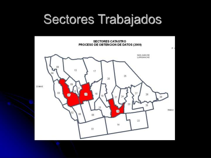 Sectores Trabajados