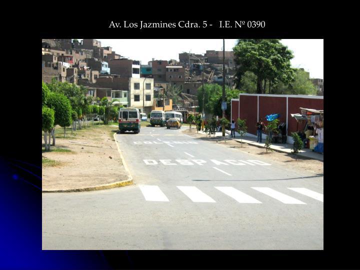 Av. Los Jazmines Cdra. 5 -