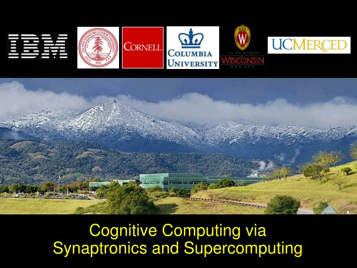 Cognitive Computing via