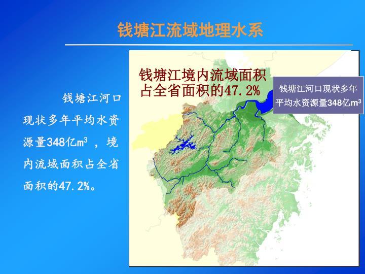 钱塘江流域地理水系
