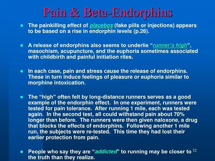 Pain & Beta-Endorphins