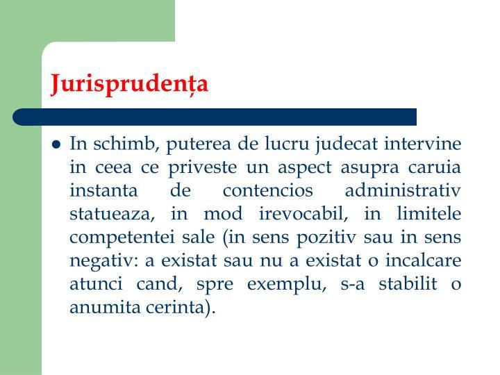 Jurisprudenţa