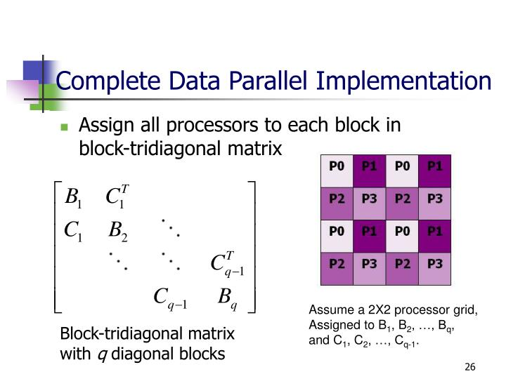 Complete Data Parallel Implementation