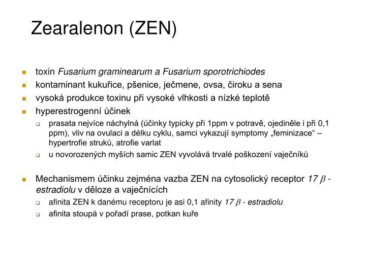 Zearalenon