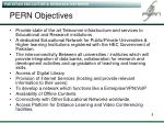 pern objectives
