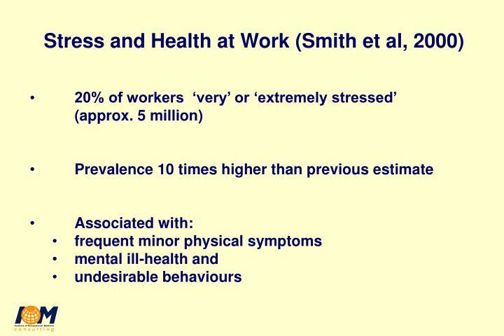 Whitehall ii study stressed